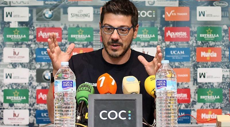 Fotis Katsikaris UCAM Murcia Barcelona